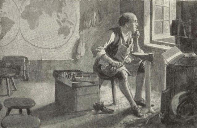 A cobbler should do as well as a preacher in church