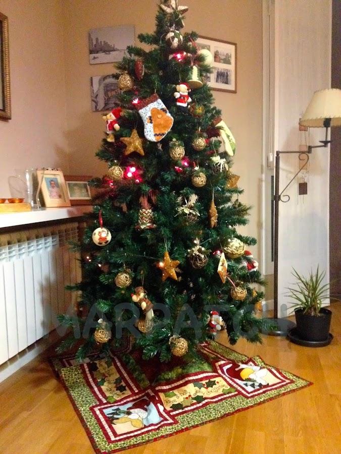 Algunas ideas en patchwork para Navidad