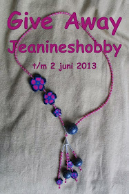 give away bij jeanines hobby