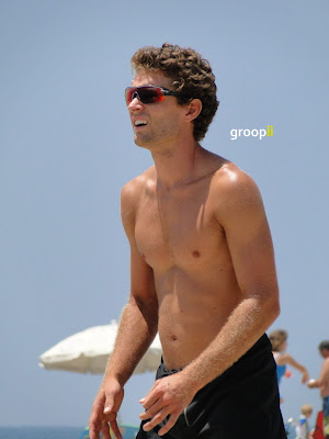 Andy McGuire Shirtless at the NVL Malibu 2011