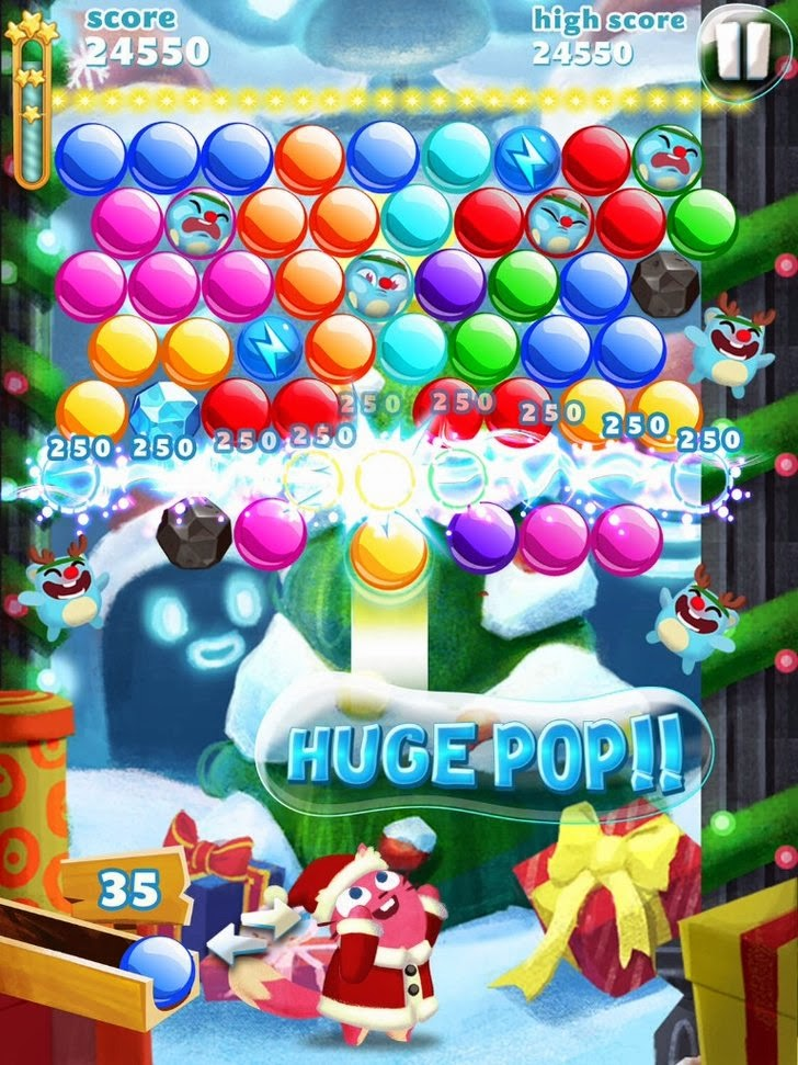 Bubble Mania: Christmas App iTunes App By TeamLava - FreeApps.ws