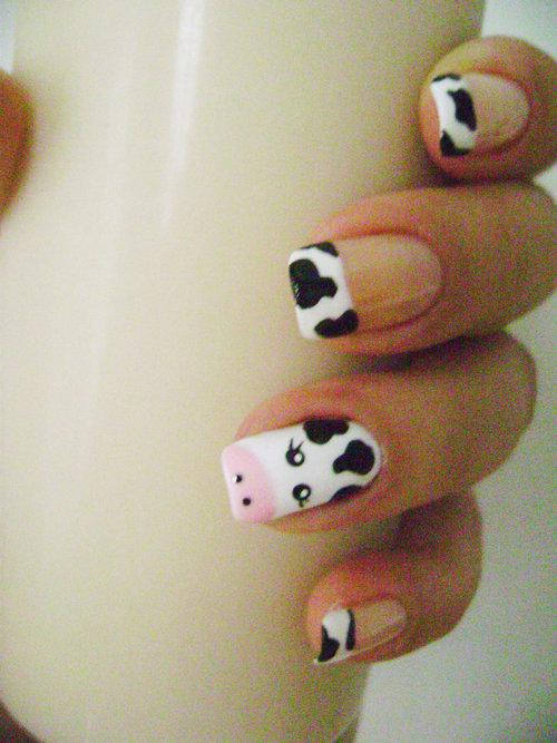 u as decoradas vacas