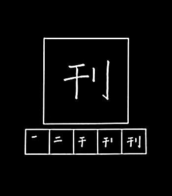 kanji menerbitkan