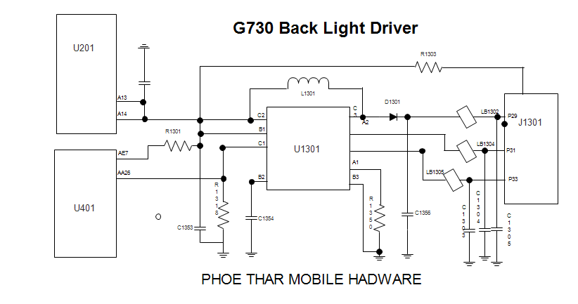 လူကြီးမင္း g back light diagram, wiring diagram