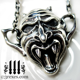 Vampire GARGOYLE Gothic Necklace