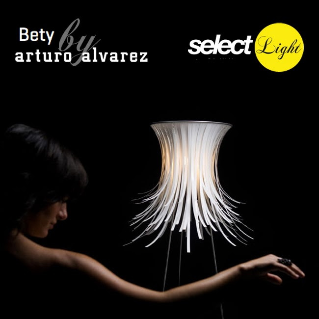 Lámpara Bety de Arturo Álvarez.