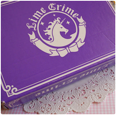 Lime Crime Packaging