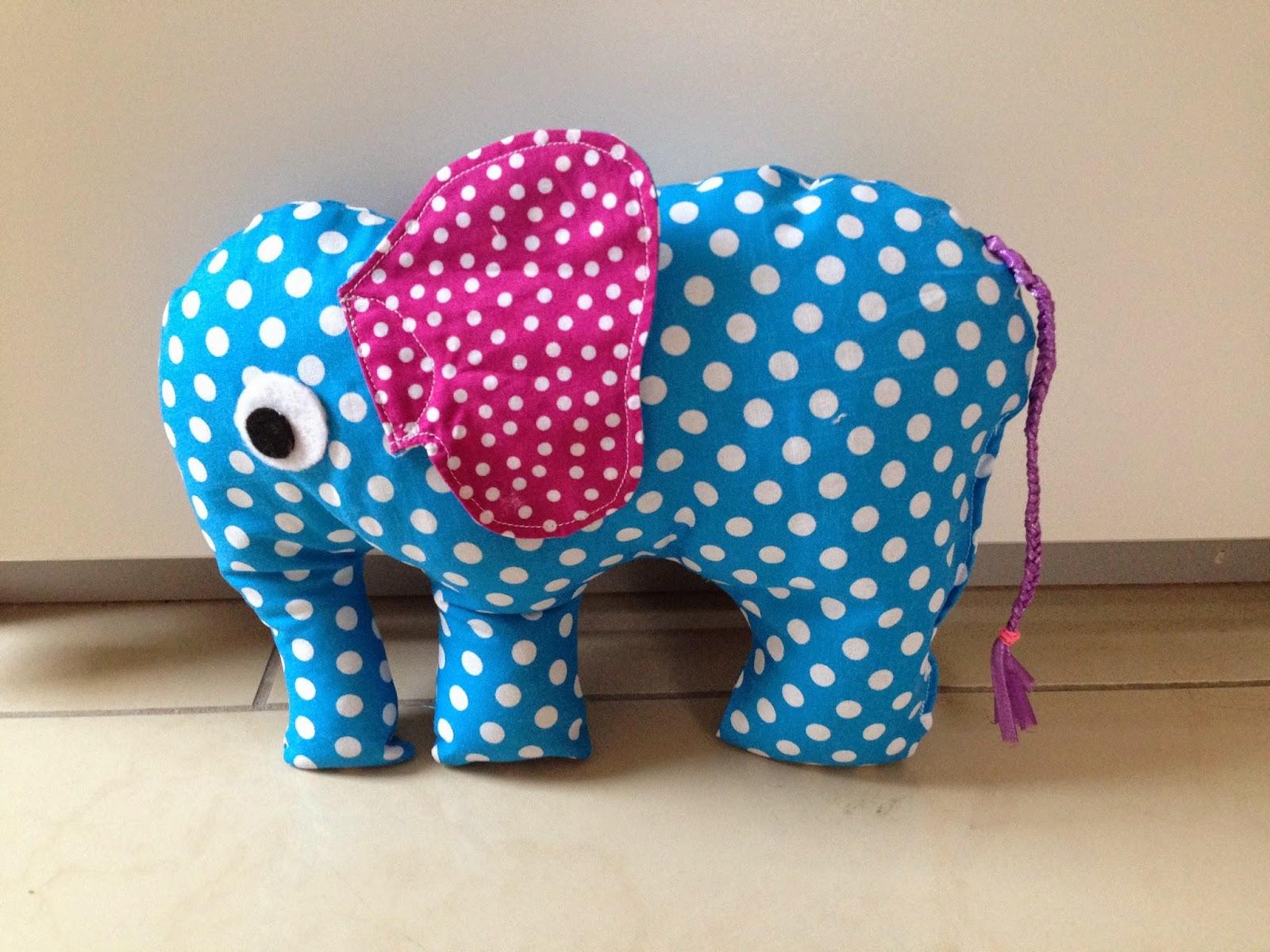 Lisas Nähkästchen: Elefanten? Klar doch!