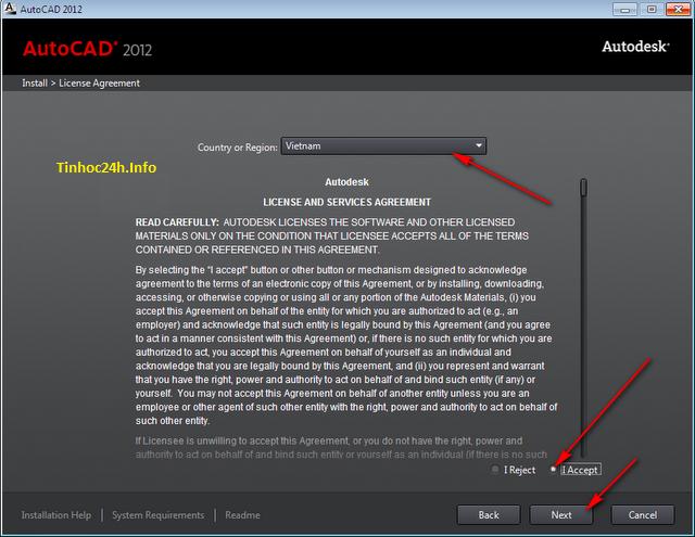 AutoCAD 2012 Setup Step 2