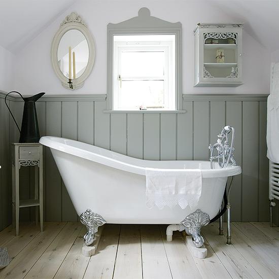 Dep sito santa mariah um banho de luxo for English cottage bathroom ideas
