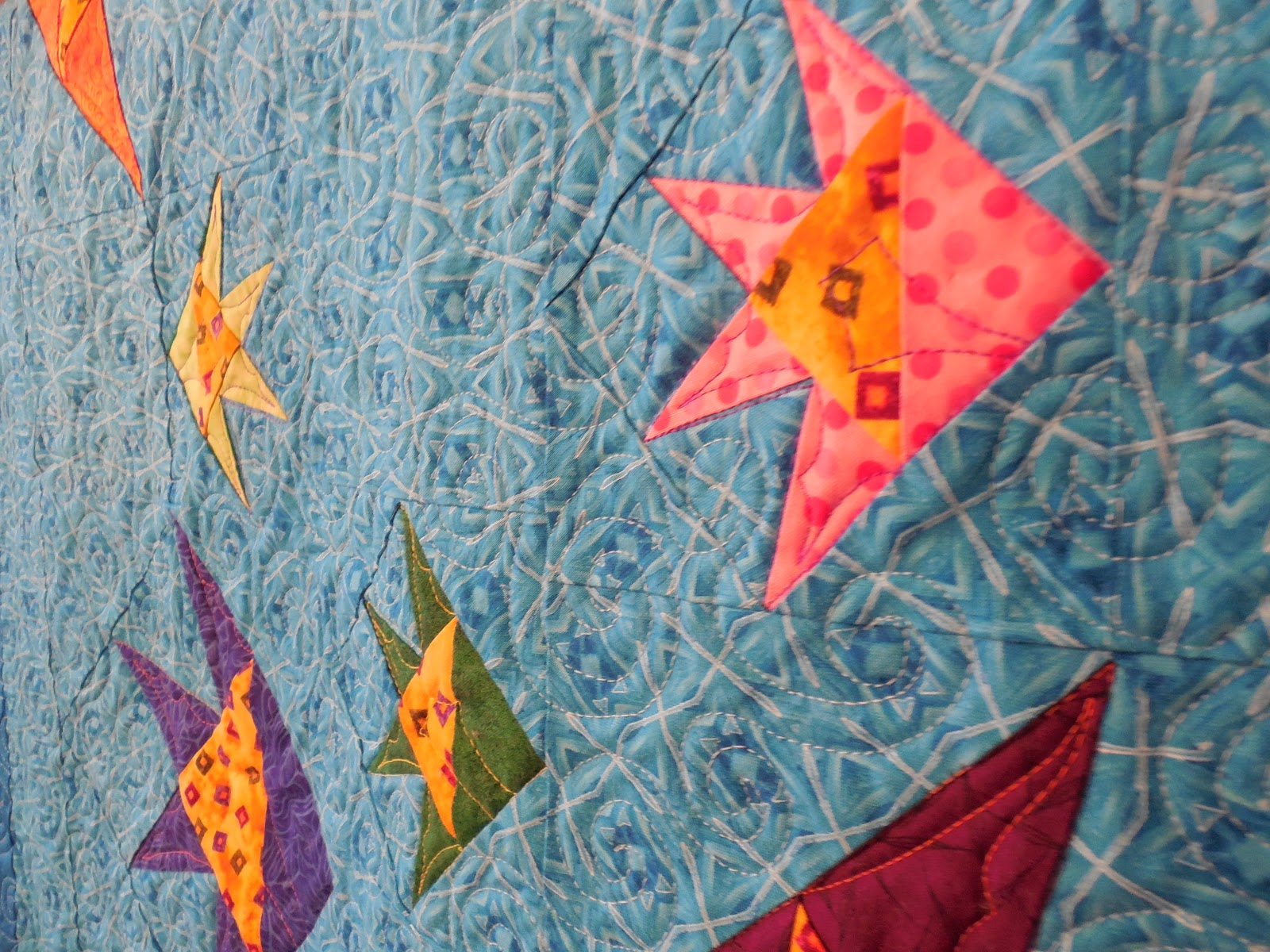 items clown htm quilt quilted fish shop finished p