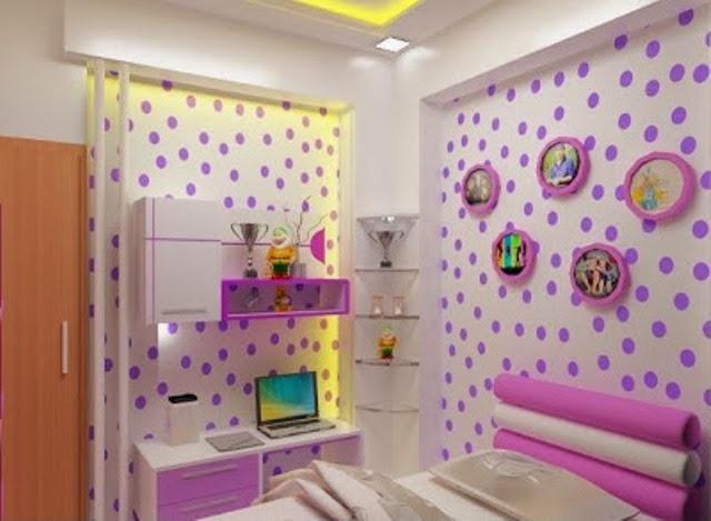 mengenai inspirasi Desain Wallpaper Dinding Cantik Untuk Kamar Tidur
