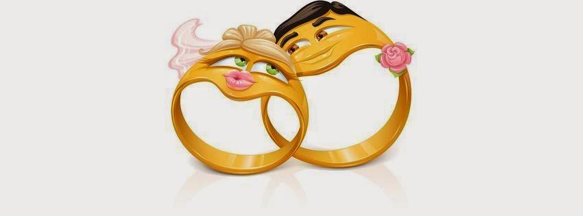 Couverture facebook pour un évenement de mariage