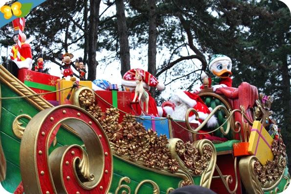 Parade de Noël 2014 à Disneyland Paris