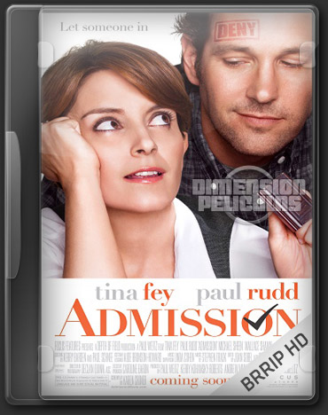 Admission (BRRip HD Inglés Subtitulada) (2013)