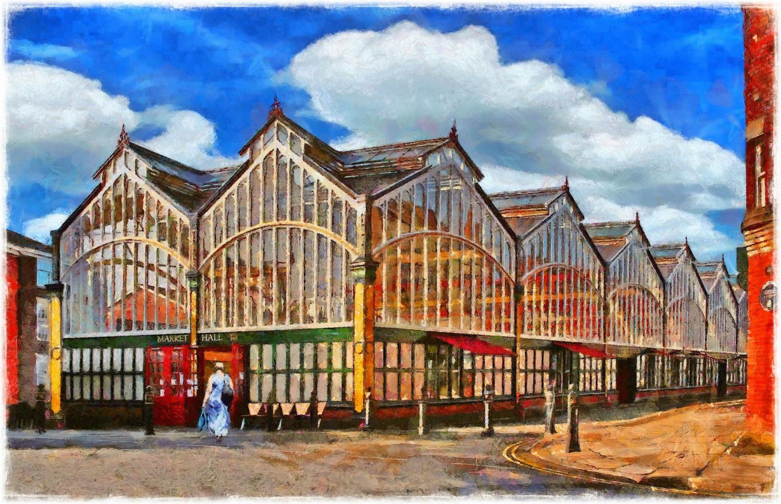 stockport market hall history