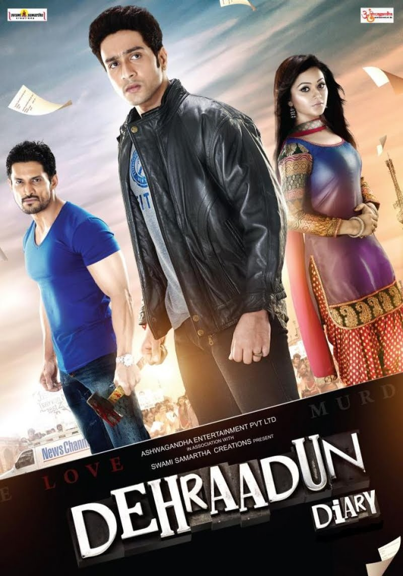 Dehraadun Diary - 2013 Hindi mobile movie poster hindimobilemovie.blogspot.com