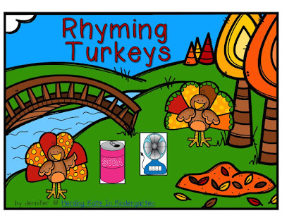 https://www.teacherspayteachers.com/Product/Turkey-Rhyming-Match-Up-2193467