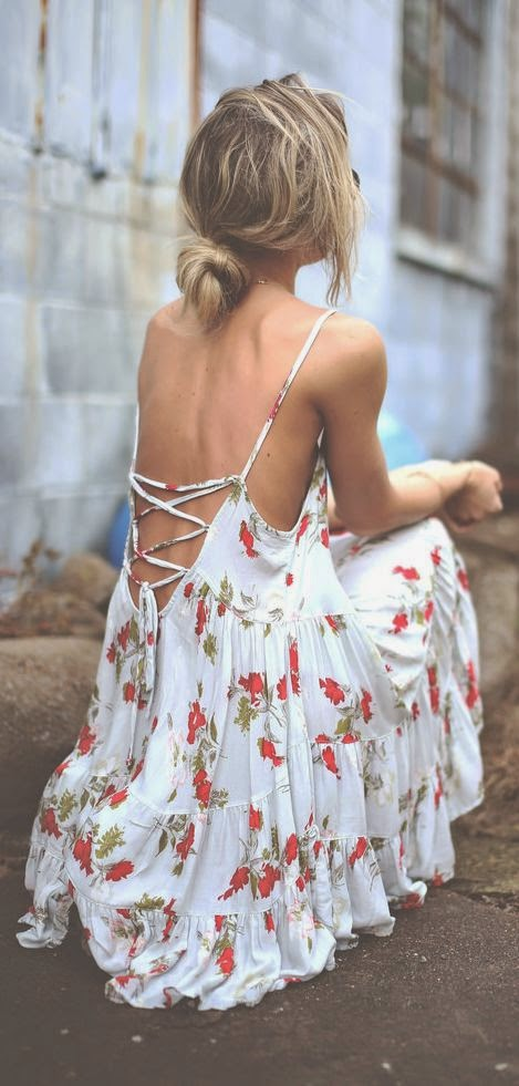 Lace  Printed Dress collection for summer.
