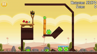 Angry Birds 3-2 Poached Eggs