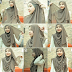Tutorial Gaya Hijab Terbaru - Simple, Casual dan Glamour