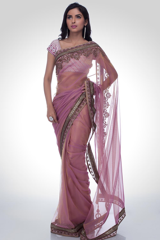 Indian Embroidered Sarees  New Saree Trends  Satya Paul