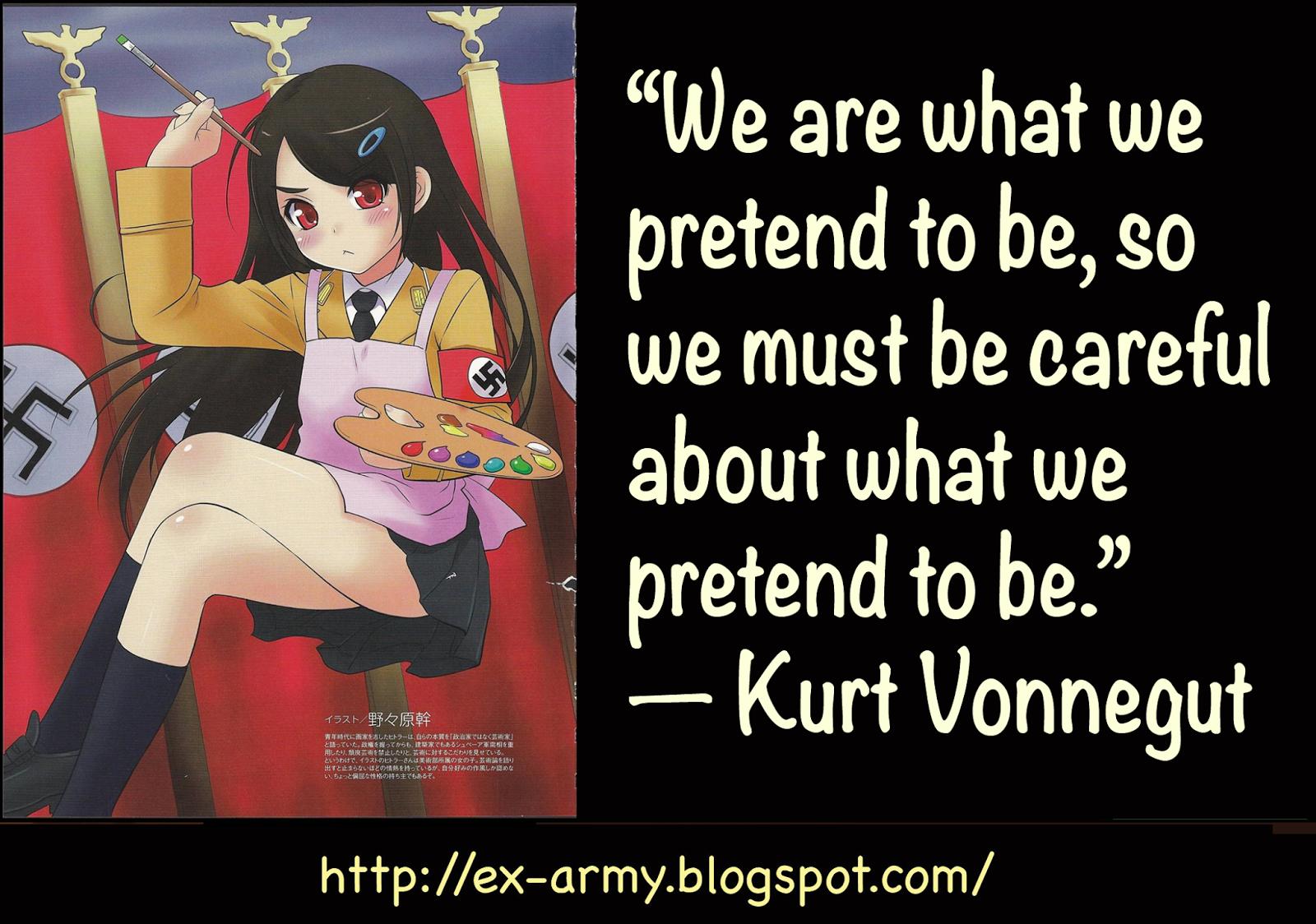 Ex-Army - Libertarian Nationalist: Kurt Vonnegut's Harrison Bergeron
