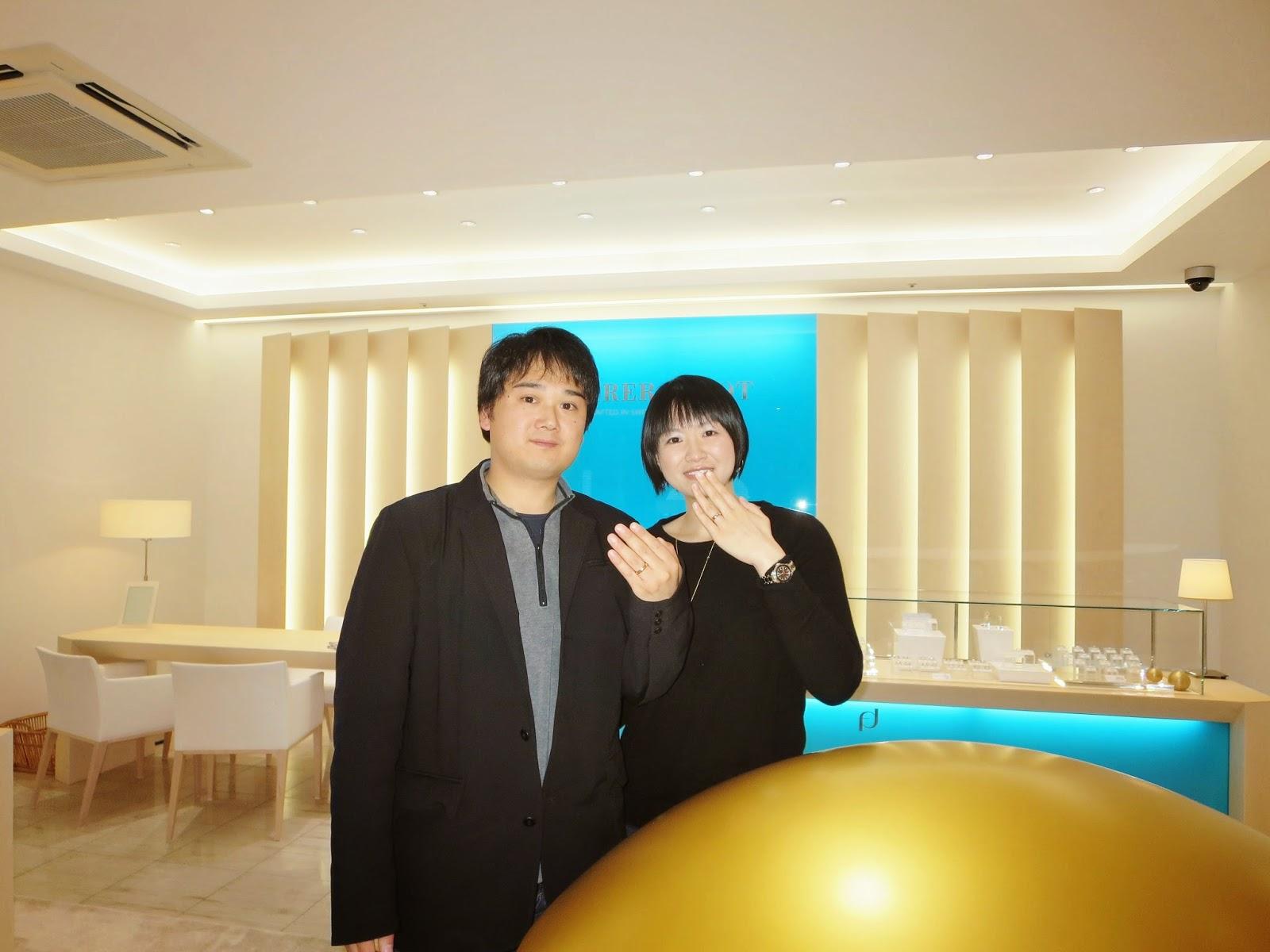 FURRER JACOT フラージャコー名古屋 鍛造 特別 結婚指輪 スイスメイド ゴールド ダイヤモンド