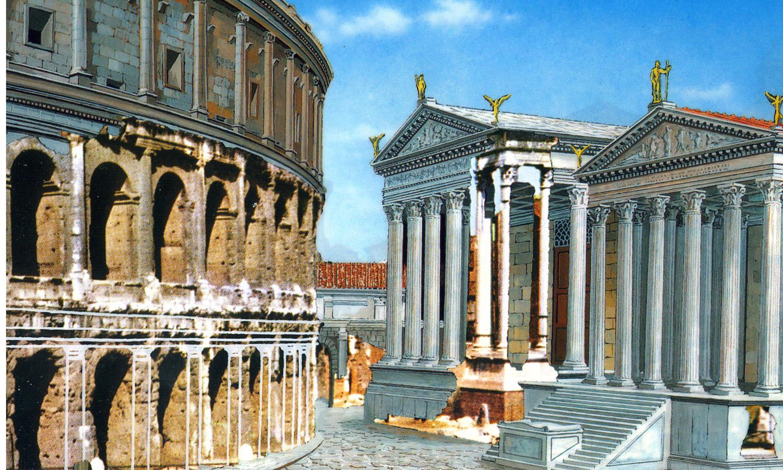 Romarcheomania for Come aggiornare le colonne del portico anteriore