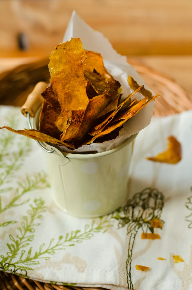 domowe chipsy, chipsy z dyni, chipsy dyniowe
