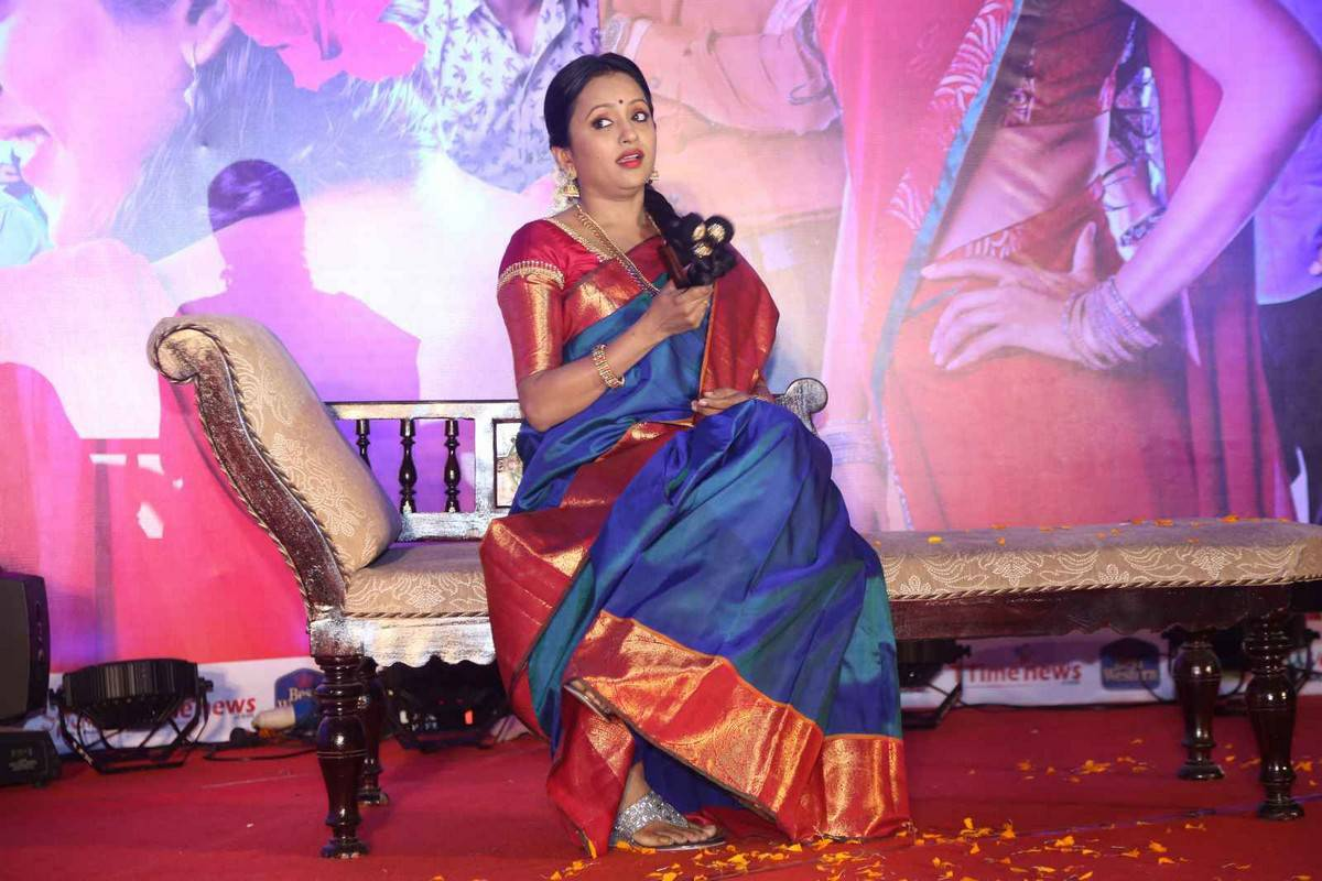Anchor Suma Latest Stills At Kundanapu Bomma Audio Launch