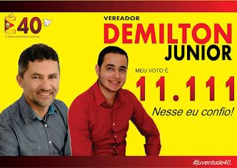 Vereador Demilton Junior Um Jovem a serviço da população de Correntes