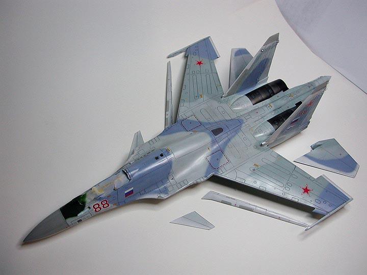 Sukhoi Su-35 Super Flanker Fighter Aircraft