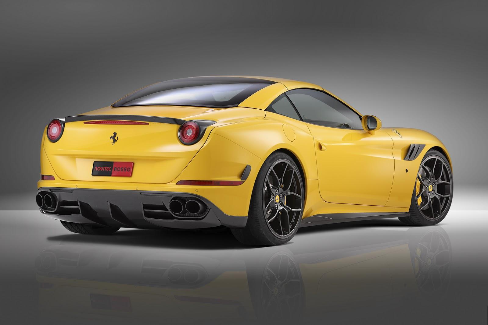 Novitec Rosso S Manlier Ferrari California T Carscoops