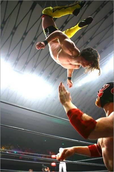 Adrian Neville PAC Dragon Gate indie El Generico Sami Zayn match