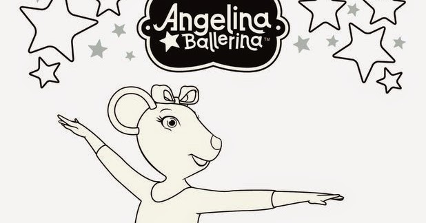 angelina ballerina alice coloring pages - photo#30
