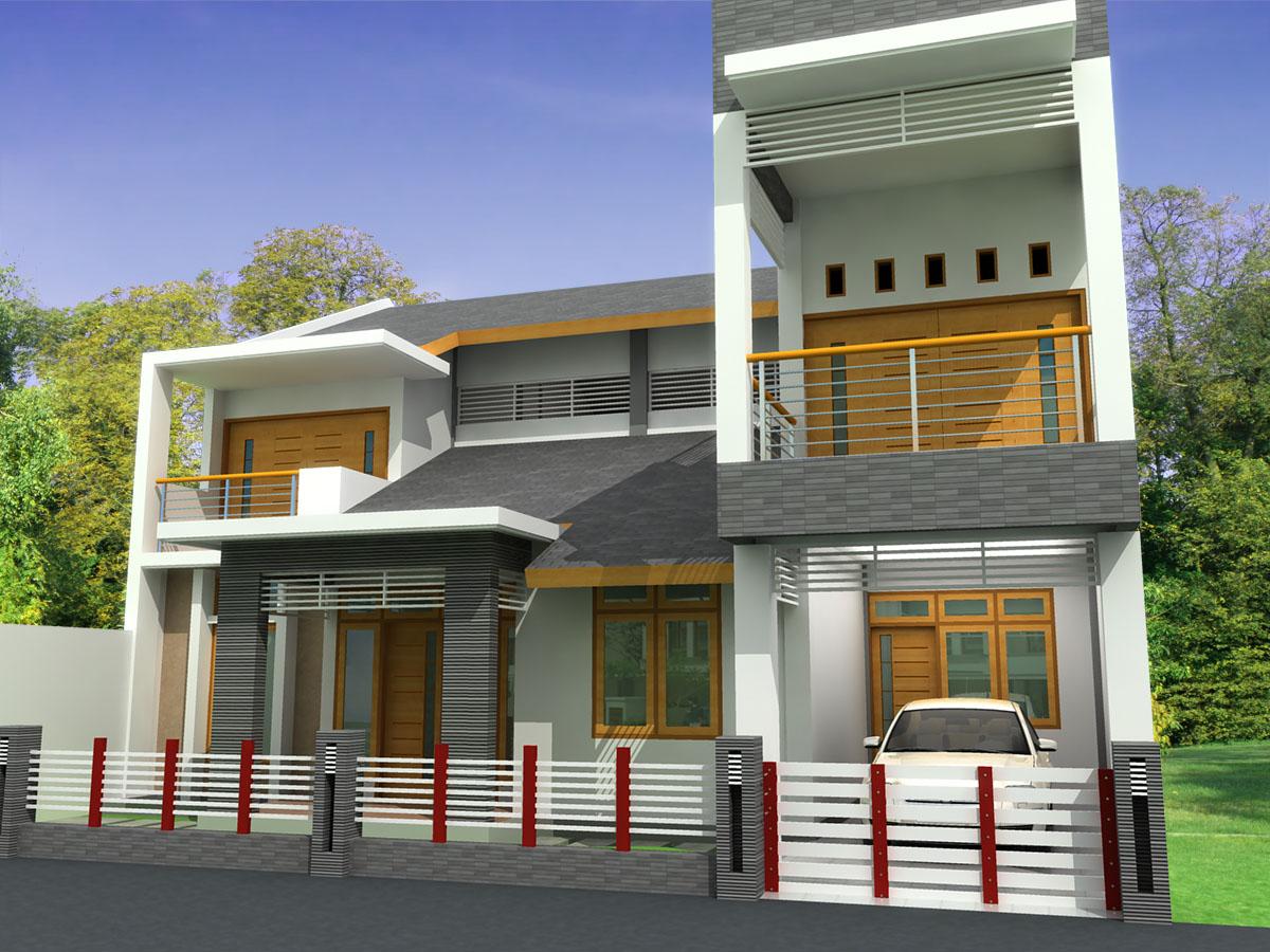 Design Exterior Rumah 2 Lantai