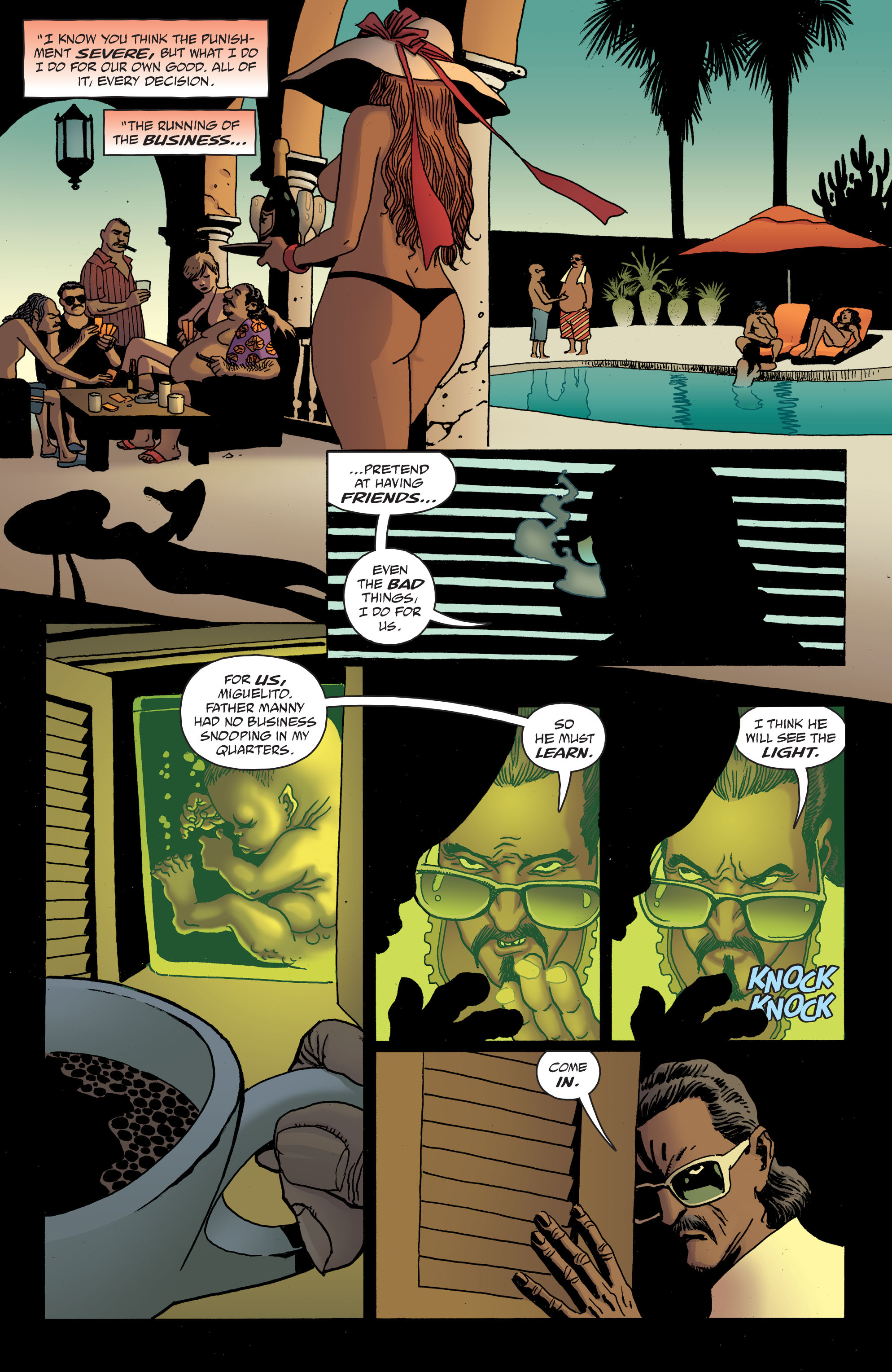 100 Bullets: Brother Lono Full Page 169
