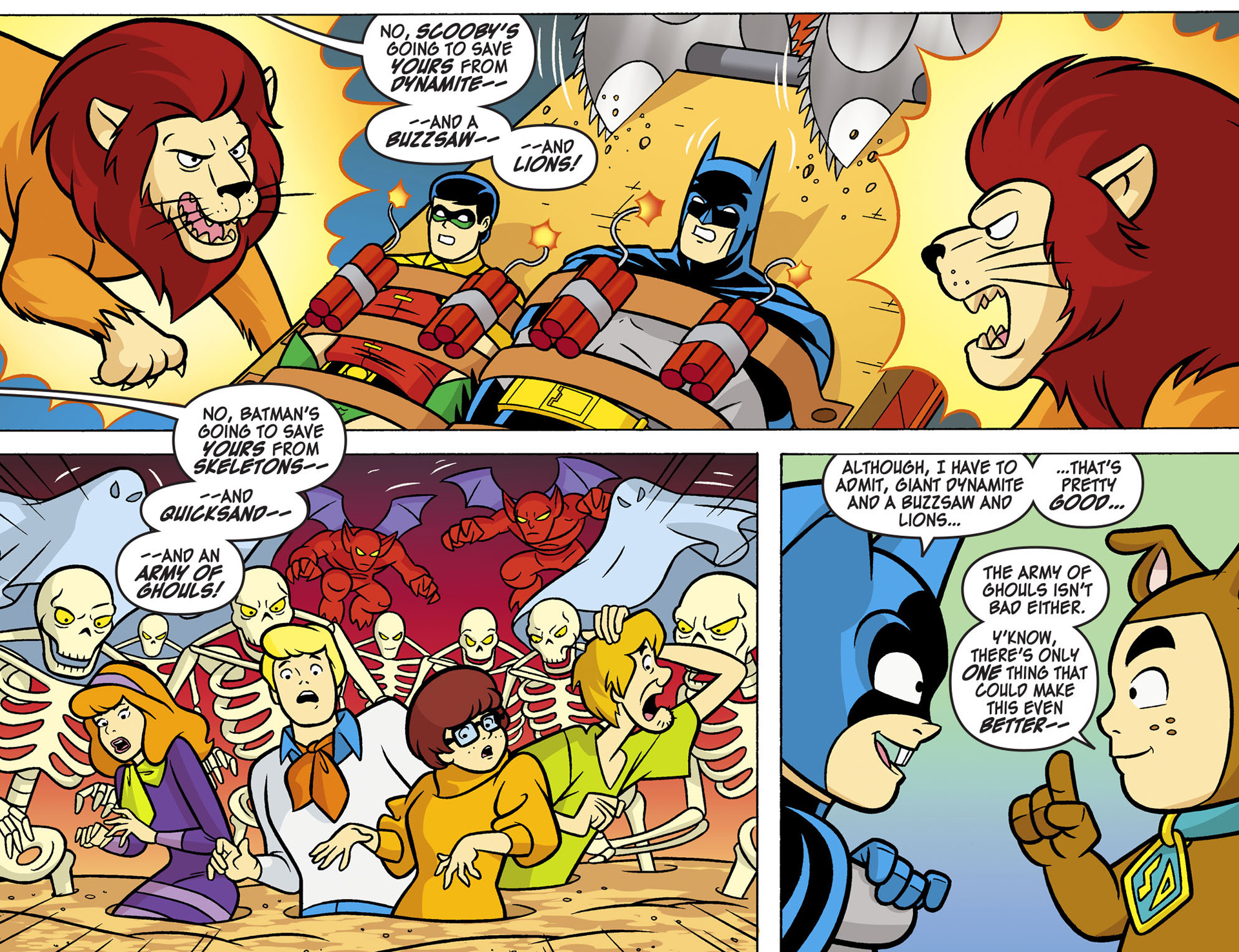 Read online Scooby-Doo! Team-Up comic -  Issue #6 - 14