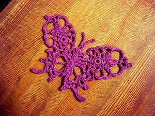 Free Crochet Patterns For Butterflies : Free Crochet Butterfly Pattern