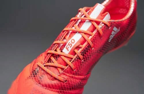 Adidas F50 adizero with Solar Red