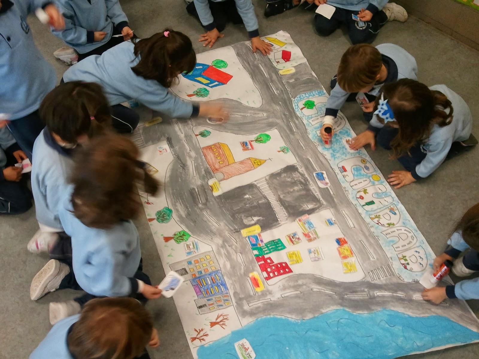 Colegio santa gema galgani educaci n infantil for Mural nuestra carne