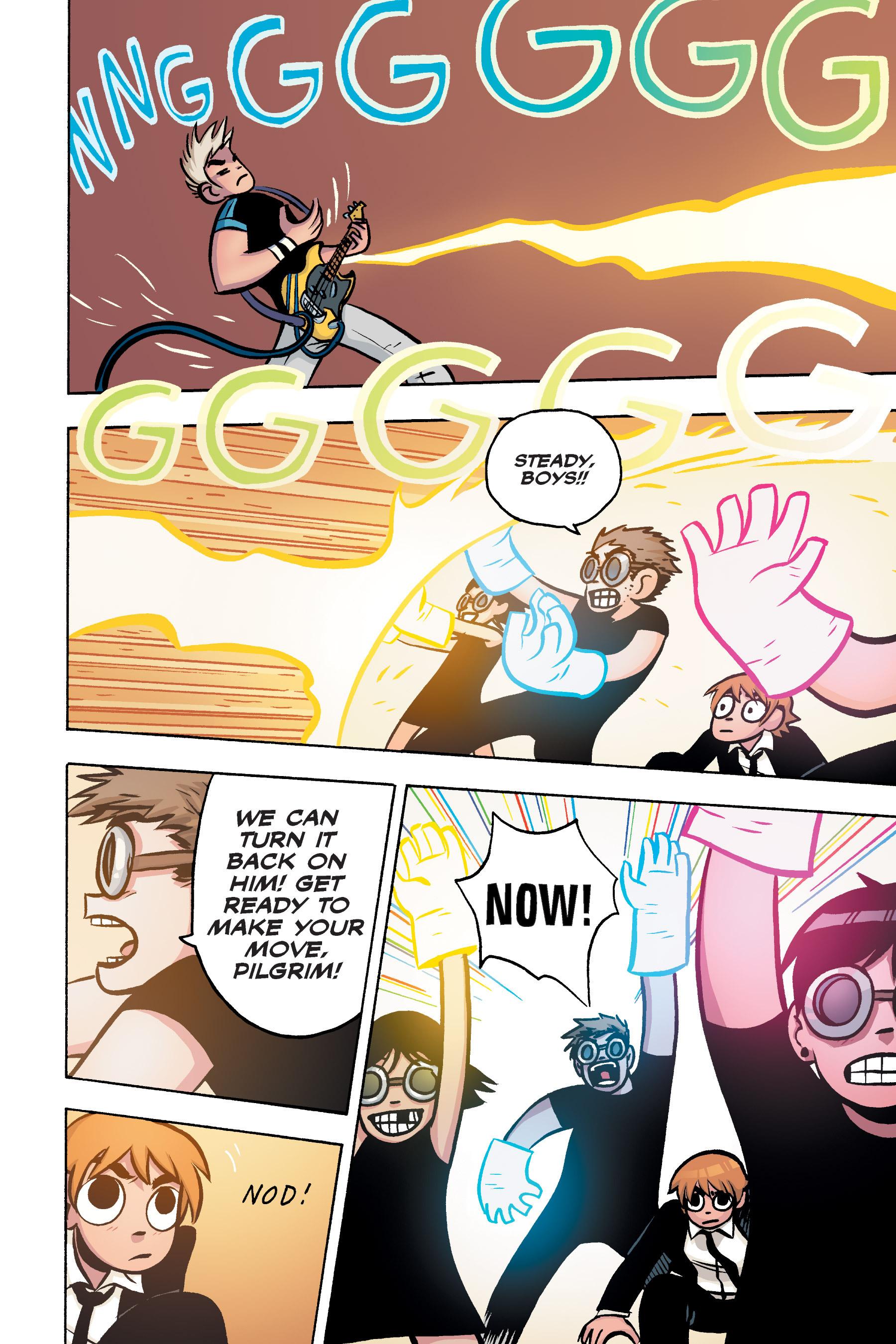 Read online Scott Pilgrim comic -  Issue #3 - 156