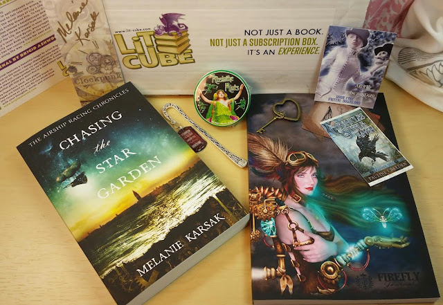 lit cube june 2015 steampunk subscription box review bits and boxes