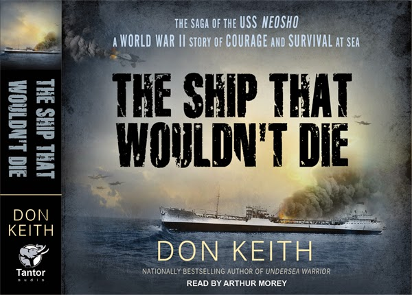Ship that Wouldn't Die by Don Keith audio book cover for World War II Coral Sea story