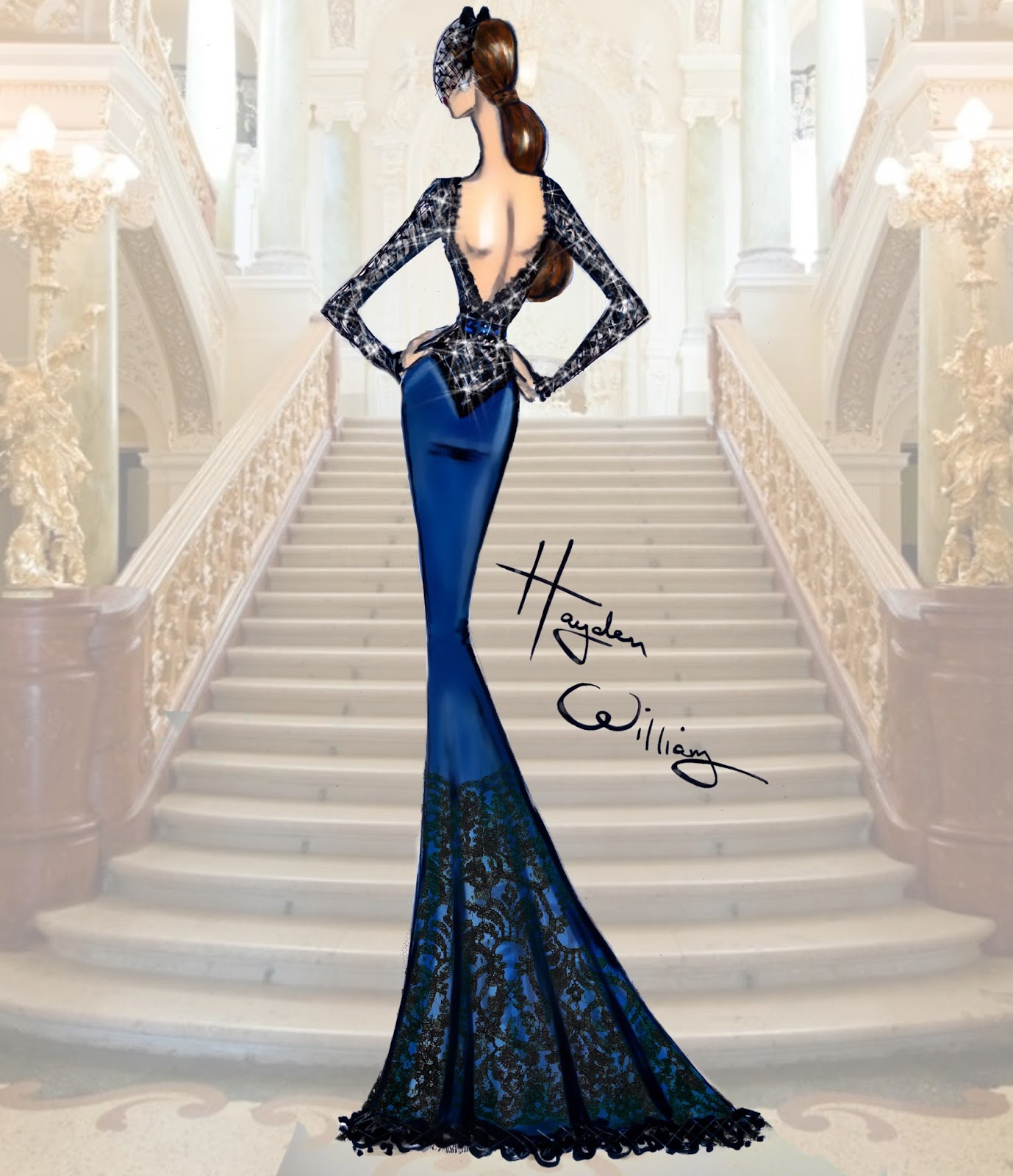 Hayden williams fashion illustrations hayden williams for Haute couture fashion