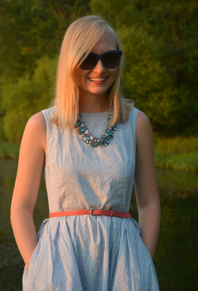 Styling a Statement Necklace | Organized Mess