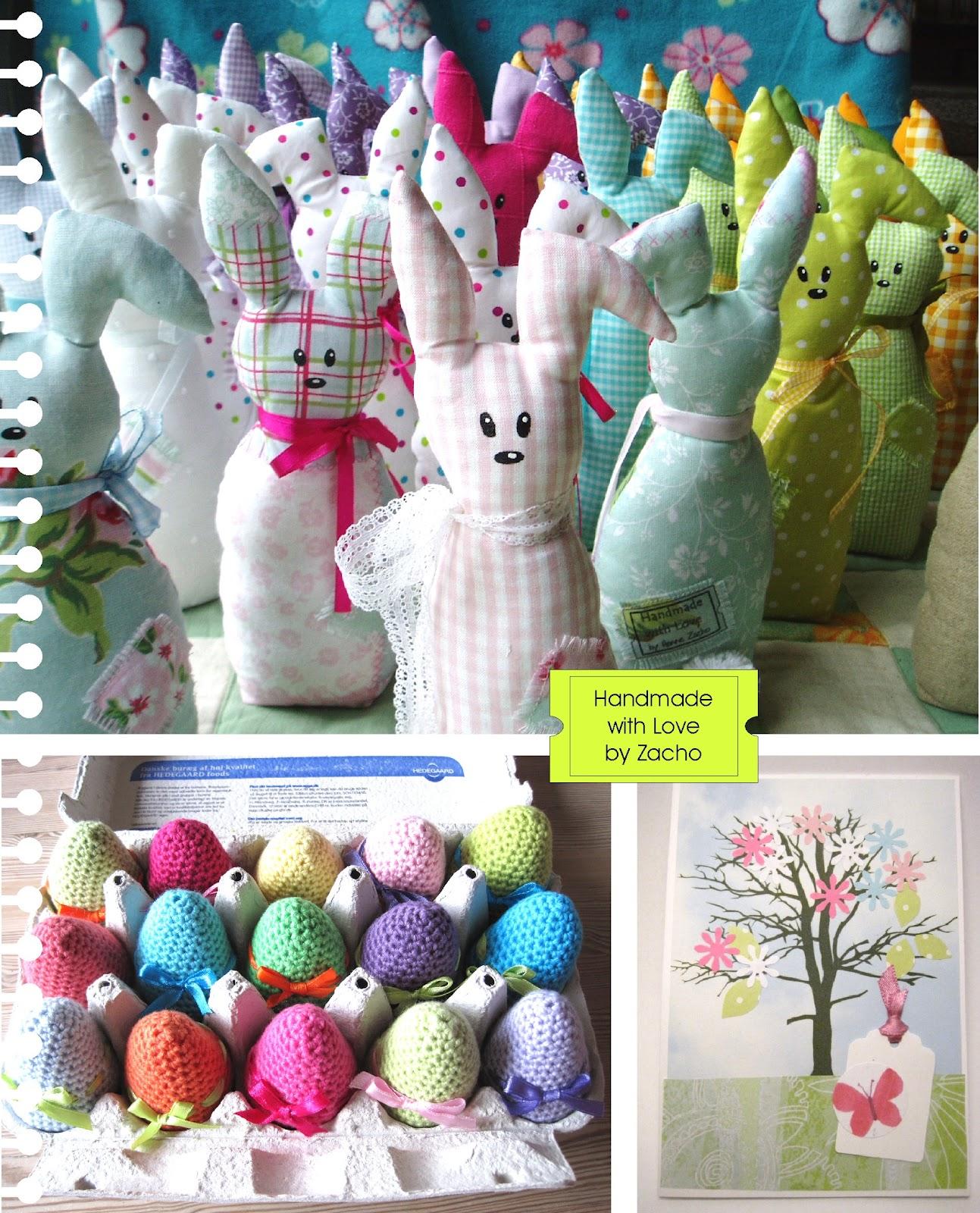 Så vil jeg vise mine påske kaniner frem