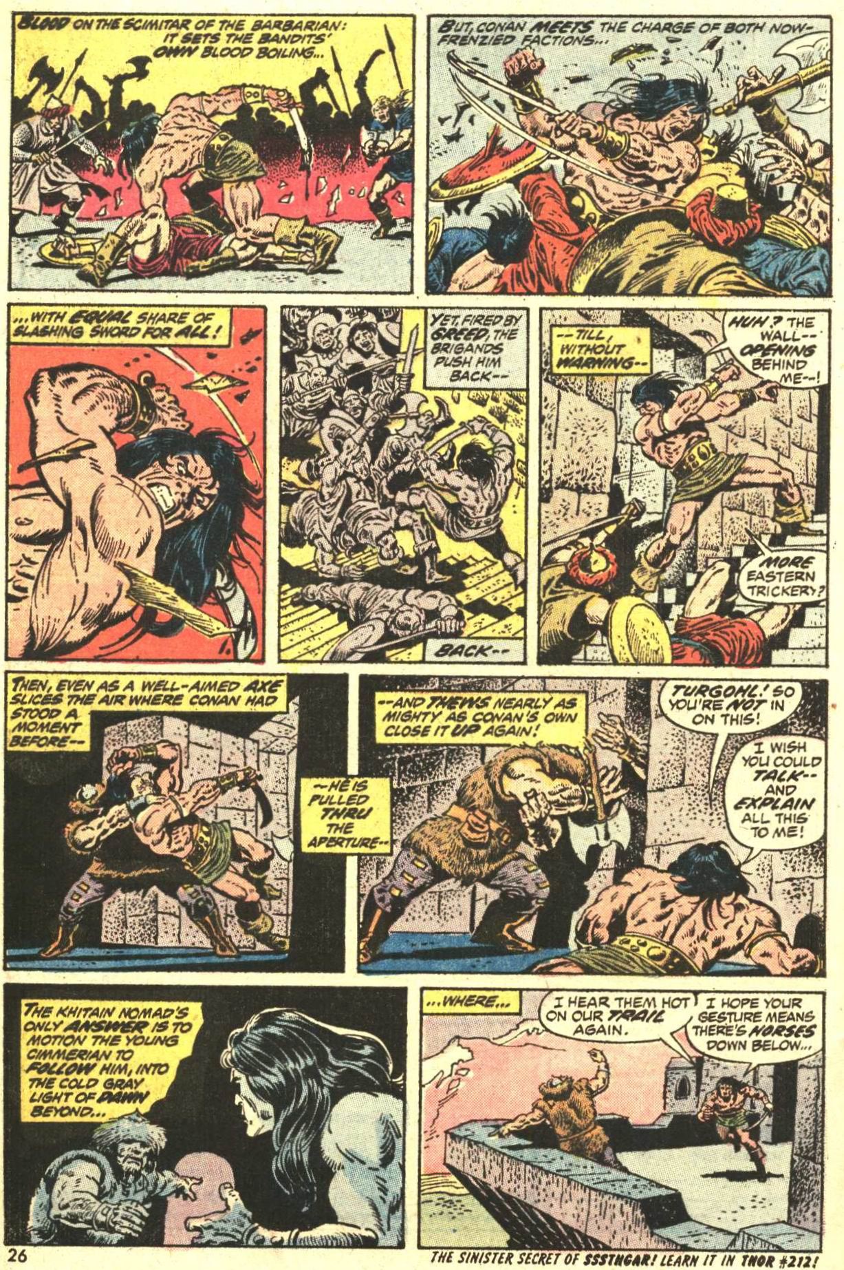 Conan the Barbarian (1970) Issue #27 #39 - English 19
