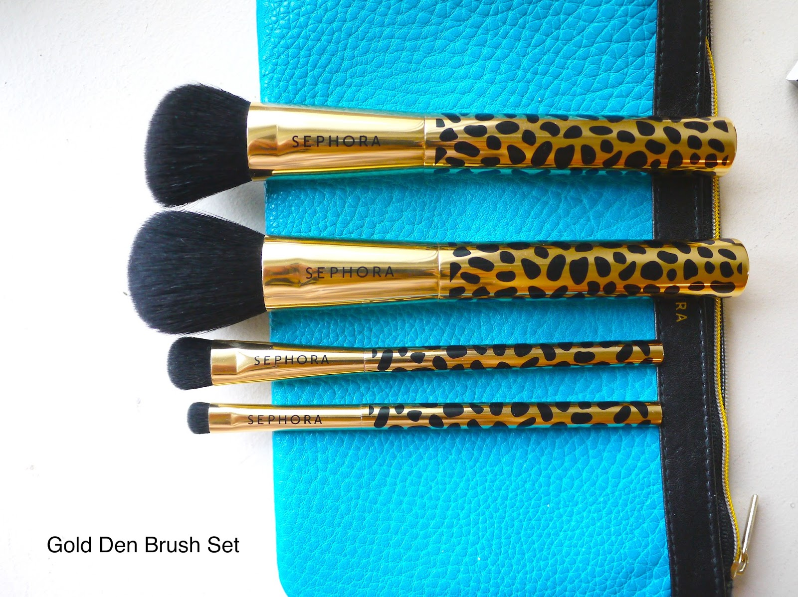 Sephora Gold Den Brush Set review